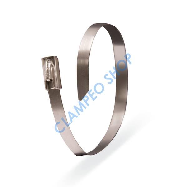 Opaska kablowa 4,6x125 mm INOX-25 szt.