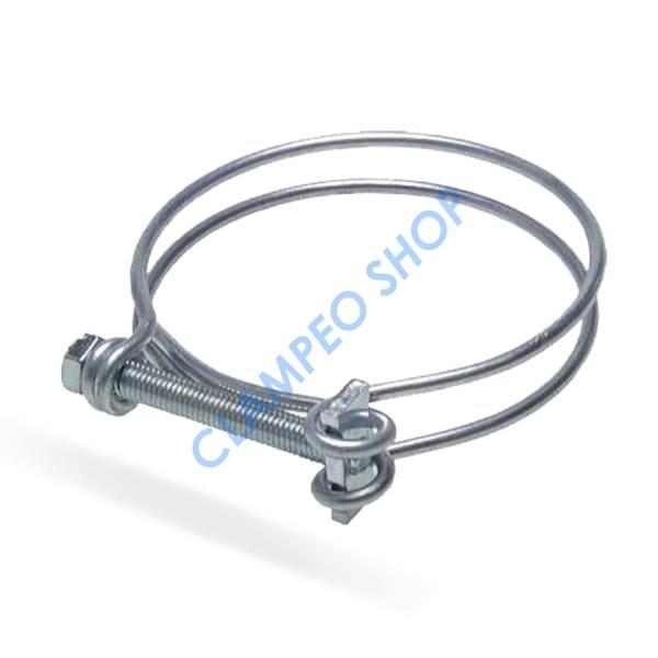Opaska drutowa skręcana śrubą W4 - 487-500mm