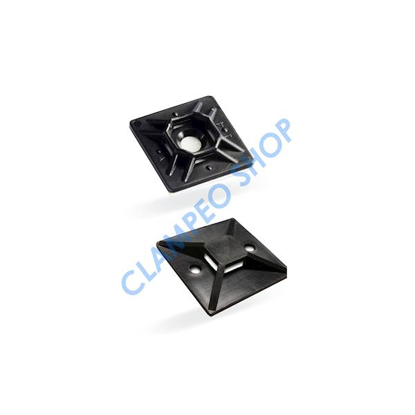 Element mocujący 27,7x5,7mm UV Black - 100szt