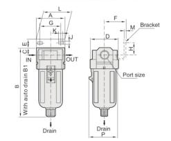 """UP EF4000-04 FILTR 1/2"""""""