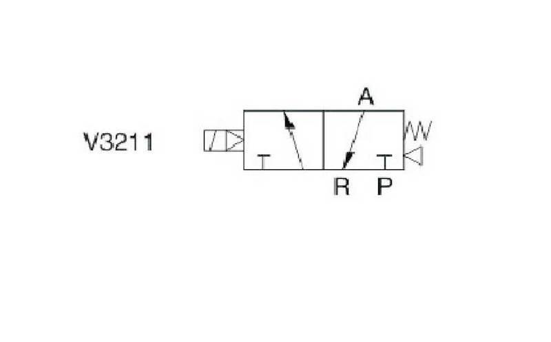 """EMC V3211-06A ELEKTROZAWÓR TRÓJDROGOWY 3/2 1/8"""""""
