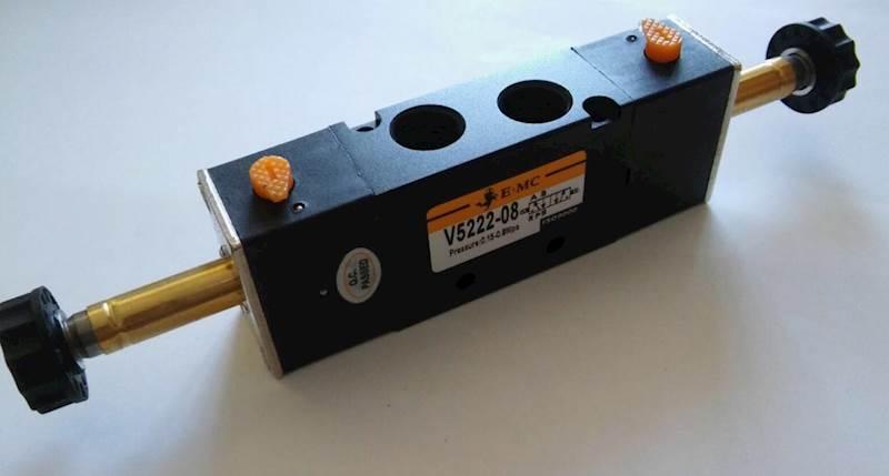 """EMC V5222-08 ELEKTROZAWÓR PIĘCIODROGOWY 5/2 1/4"""""""