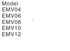 UP UMV-10 KOLANKO WTYKOWE METALOWE 10