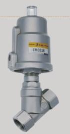 UP EMCJ-32-63-S1 ZAWÓR STAL NIERDZEW. SS 316 1-1/4