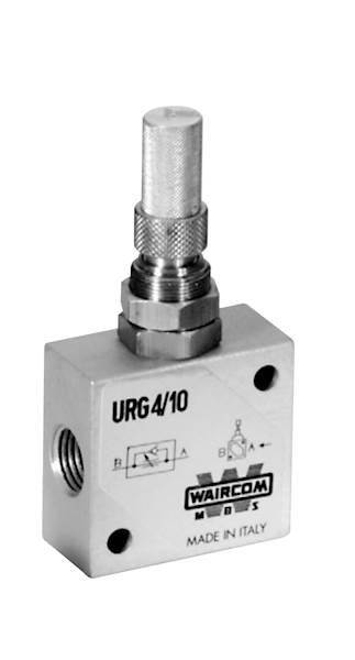 "WAIRCOM URG4/10 REGULATOR CIŚNIENIA 1/4"""