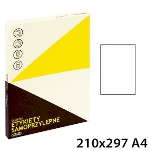 ETYKIETY SAMOPR [001] 210x297 A4 100szt GRAND 001