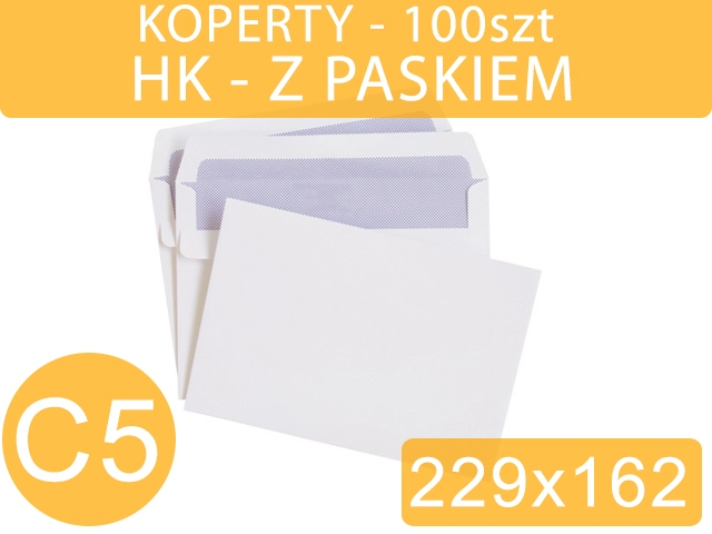 KOPERTY C5 HK BIAŁE 100szt NC / ANTAL[500]