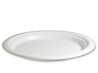 TALERZ PLASTIKOWY DESEROWY 17cm 100szt