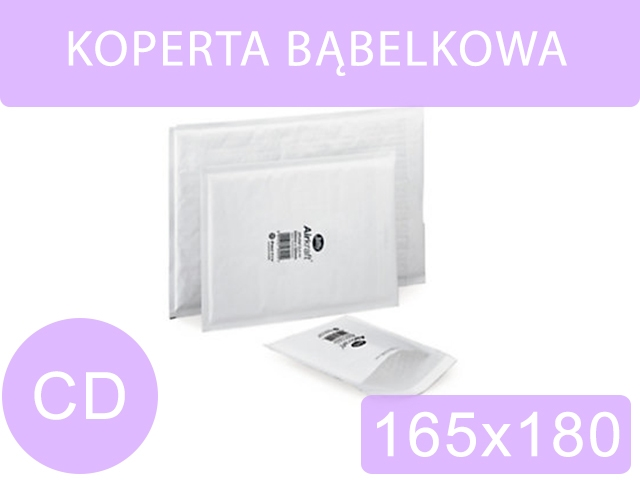 KOPERTA BĄBELKOWA CD 165x180 [100]