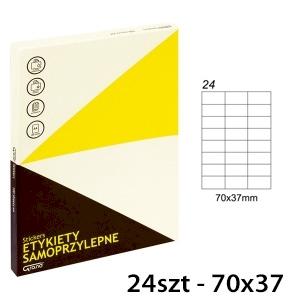 ETYKIETY SAMOPR [024] 70x37 100szt GRAND 014
