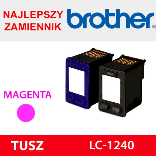 BROTHER CARTRIDGE LC-1240 MAGENTA ZAM