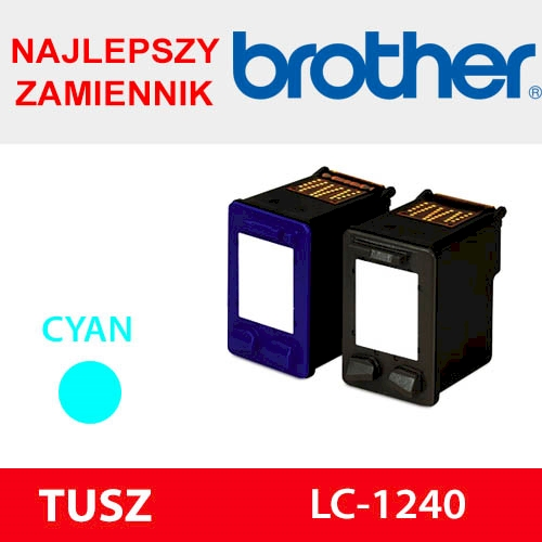 BROTHER CARTRIDGE LC-1240 CYAN ZAM