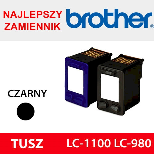 BROTHER CARTRIDGE LC-1100 LC-980 BLACK ZAM