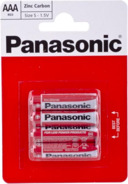 BATERIA AAA R03 4szt PANASONIC