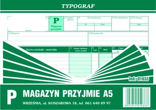 DRUK MAGAZYN PRZYJMIE A5 POZI 1033.TYP