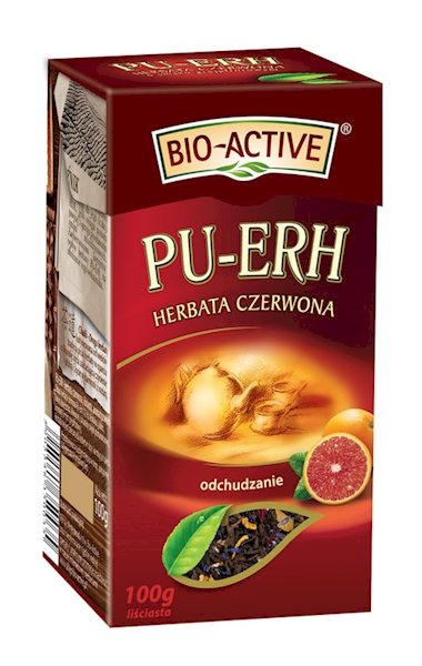 HERBATA EXPRES CZERWONA PU-ERH 20szt Z GREJPRUT