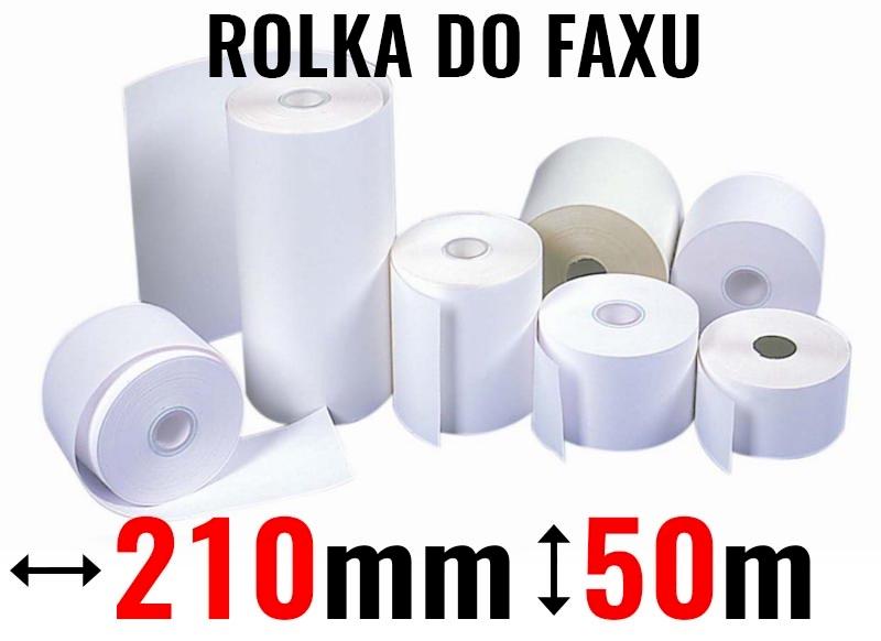 ROLKA DO FAXU 210x50 ZEFIR