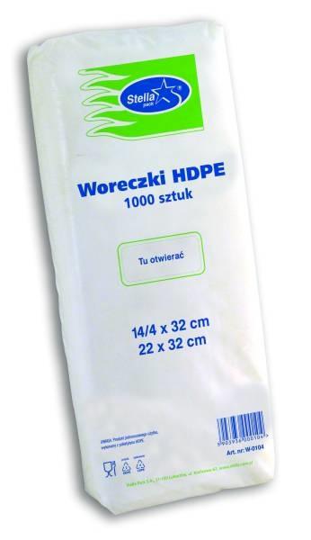 TOREBKI FOLIOWE HDPE 1000szt | 4 ROZMIARY