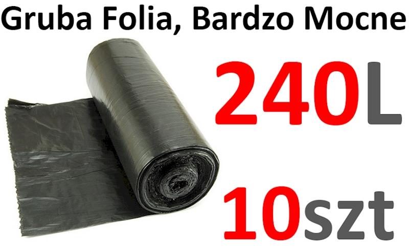 WORKI 240L 10szt MOCNE SPOCO