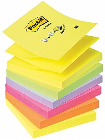 NOTES + PODAJNIK POST-IT 3M C-301 Z-NOTES 76x76