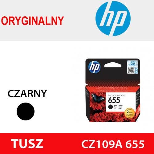 HP TUSZ CZ109A 655 CZARNY ORYG 550k