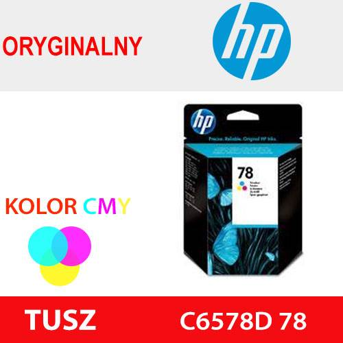HP TUSZ C6578D 78 KOLOR ORYG 19ml 450k