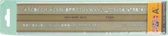 SZABLON CYFR-LITER 20mm 748014 KOH-I-NOOR