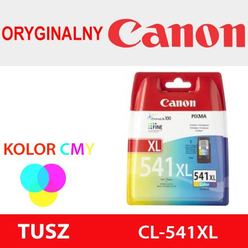 CANON TUSZ CL-541XL KOLOR ORYG 400k