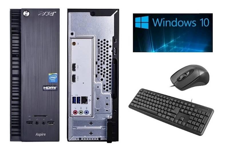 Komputer PC Acer AXC-704G J3060/4GB/500GB/Win10