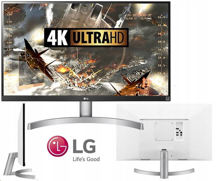 LG Electronics Monitor 27 27UK600-W 4K