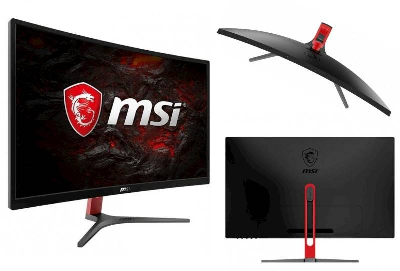 "Monitor 23,6"" LED MSI Optix G24C 144Hz VA Curved"