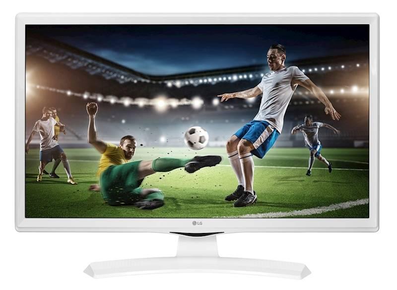 """LG Monitor 28"""" 28TK410V-WZ TV biały"""